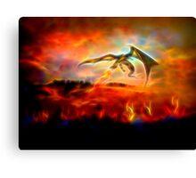 Dracarys - Burn them all! 2 Canvas Print