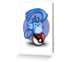 Chubby Articuno Greeting Card