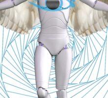 Cyborgs in Us  Sticker