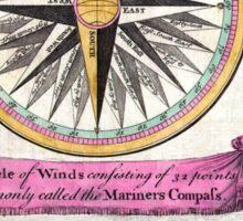 The Mariner's Compass  Sticker