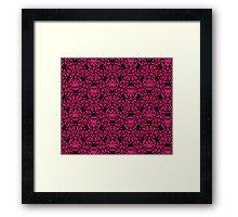 Pink Texture Framed Print