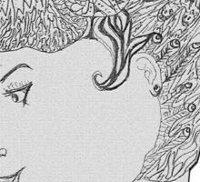 The Majestic Women Sticker