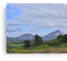 Mount Errigal From A Different Angle Canvas Print