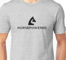Horse powered logo Unisex T-Shirt