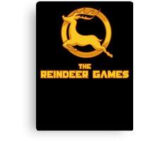 The Reindeer Games Canvas Print