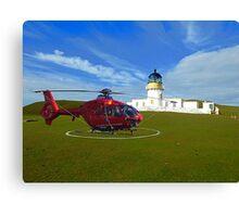 Fair Isle North Lighthouse Canvas Print