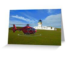 Fair Isle North Lighthouse Greeting Card