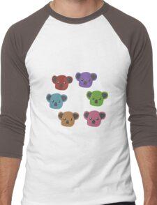 Autumn/Fall Koalas Men's Baseball ¾ T-Shirt