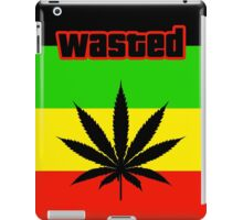 Wasted (Smoke weed) iPad Case/Skin