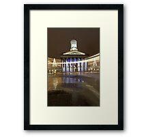 Glasgow light Framed Print