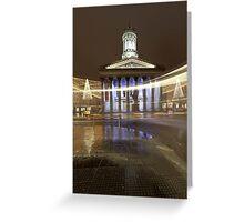 Glasgow light Greeting Card