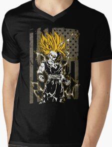 Saiyan T-shirt - vegeta Mens V-Neck T-Shirt