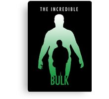 The Incredible Bulk Canvas Print