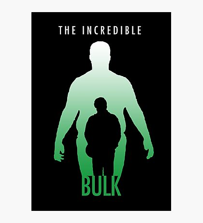 The Incredible Bulk Photographic Print