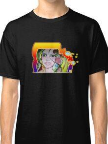 Watercolored Girl Classic T-Shirt
