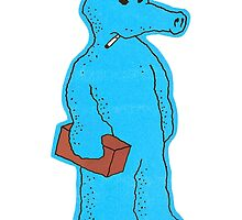 Blue Quasimoto by Chase Haver