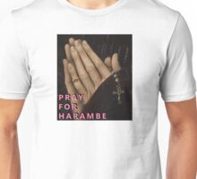 Pray for Harambe Unisex T-Shirt