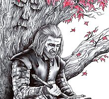 Eddard Stark Under the Weirwood Tree by Anthony McCracken