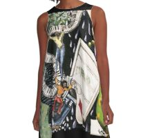 Coming up Aces A-Line Dress