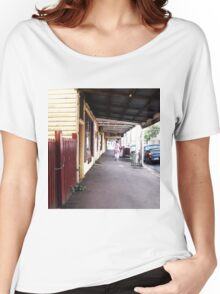 Streetscape Trentham VIC Australia Women's Relaxed Fit T-Shirt