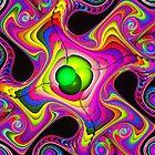 melting rainbow gnarls by LoreLeft27