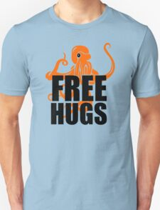 FREE HUGS Funny Humor PEACE AND LOVE Big Bold Hippie TRENDY PARTY Unisex T-Shirt