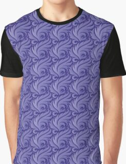 Purple Lines Graphic T-Shirt