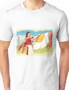Peggy  Discovers Uppers Unisex T-Shirt