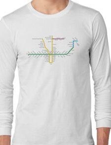 Toronto Subway Long Sleeve T-Shirt
