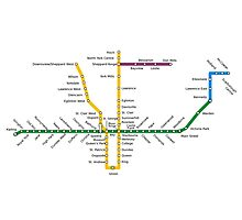 Toronto Subway Photographic Print