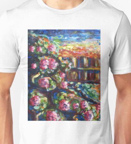Rose Bush Unisex T-Shirt