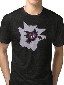 Gastly - Haunter - Gengar Tri-blend T-Shirt