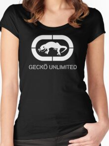 GECKO Unlimited Women's Fitted Scoop T-Shirt