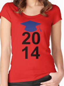 Graduation Class of 2014 High School College Senior Gift 2 Women's Fitted Scoop T-Shirt