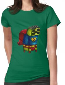 Super Creeper Womens Fitted T-Shirt
