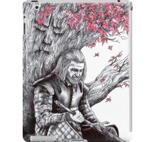 Eddard Stark Under the Weirwood Tree iPad Case/Skin