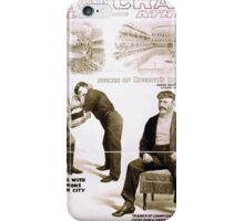 Performing Arts Posters Roeber and Crane Bros Vaudeville Athletic Co 1942 iPhone Case/Skin