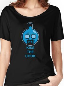 Heisenberg Kiss The Cook Breaking Bad Movie Heisenberg Portrait Women's Relaxed Fit T-Shirt