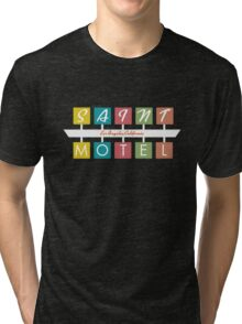 Retro Motel Sign Tri-blend T-Shirt