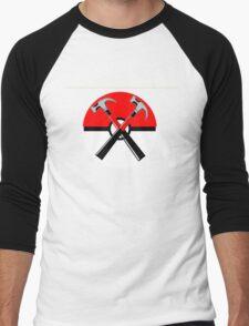 POKEWALL Men's Baseball ¾ T-Shirt