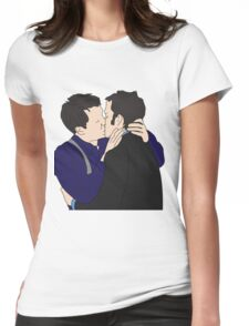 Jack and Ianto  Womens Fitted T-Shirt
