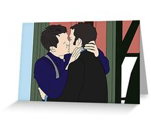 Jack and Ianto  Greeting Card