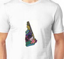 New Hampshire - 603 color Unisex T-Shirt