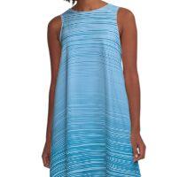 Blue Sea A-Line Dress