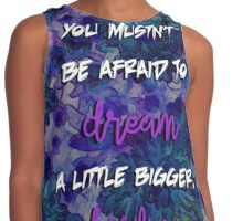 Inception Quote Contrast Tank