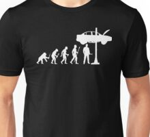 Evolution Of Man and Mechanic Funny Shirt Unisex T-Shirt
