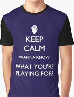 Survivor - Wanna Know What You're Playing For? Graphic T-Shirt