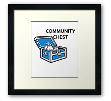 Community Chest Framed Print