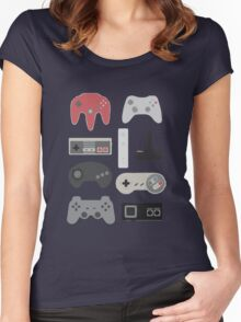 Vintage Gaming Classic Women's Fitted Scoop T-Shirt