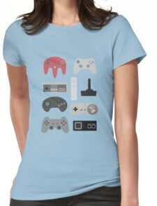 Vintage Gaming Classic Womens Fitted T-Shirt